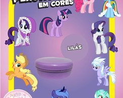 Potinho de Pl�st Cores - My Little Pony
