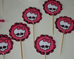Toppers para doces Monster High