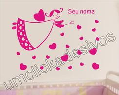 Adesivo Infantil Meninas Fada -09