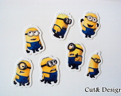 Aplique minions 50pe�as