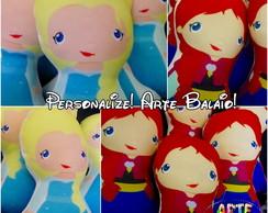 Kit 10 Almofadas Frozen Ana Elsa Olaf