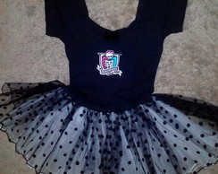 Vestido Fantasia Monster high Luxo
