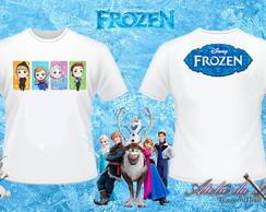 Camisa Personalizada - Frozen