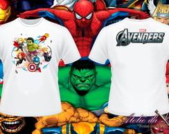 Camisa Personalizada - Os Vingadores