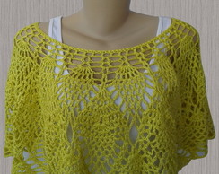 Blusa de Croch� - Pineapple