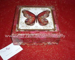 Caixa Butterfly Red
