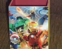 Porta L�pis Lego Heroes