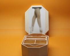 Caixa de mdf para bijuteria