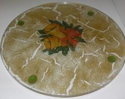 Prato de mesa natalino - pronta entrega