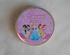 Latinhas Personalizadas - Princesas