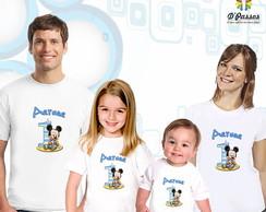 Kit 4 camisetas- Mickey Baby 01