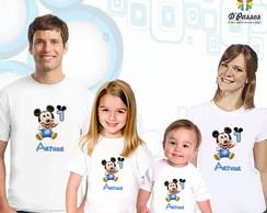 Kit 4 camisetas- Mickey Baby 02