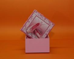 Caixa de mdf quadrada