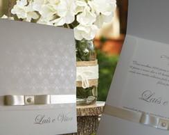 convites de casamento r�stico chique