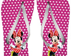 Chinelo Minnie Mouse