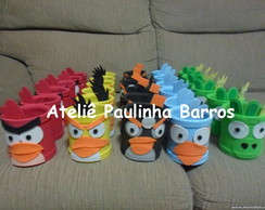 Porta l�pis Angry Birds