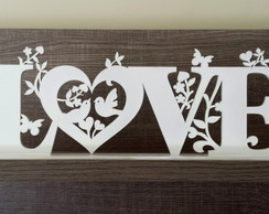 Love Birds com base - Grande