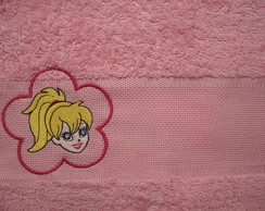 Toalha de lavabo Polly com nome