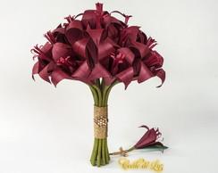 Bouquet Origami L�rios
