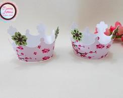 Wrapper para Cupcake Tema Kokeshi