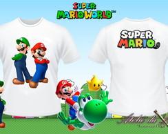 Camisa Personalizada - Super Mario
