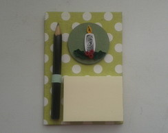 Post it com im� - Temas Natalinos