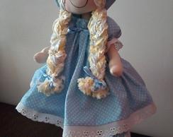 Apostila com moldes de bonecas