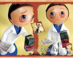 boneco em eva farmac�utico
