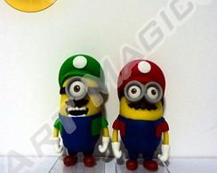 Minions Irm�os Mario - Super Mario Bros