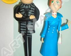 Minion- Gru&Lucy - Meu Malvado Favorito