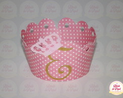 Wrapper de Cupcake: Princesas