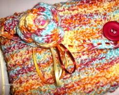 Carteira em tricot