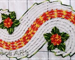 Passadeira espiral flor da paix�o