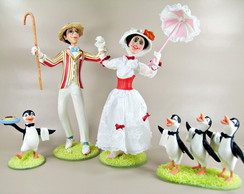 BERT E MARY COM OS PINGUINS-21D985