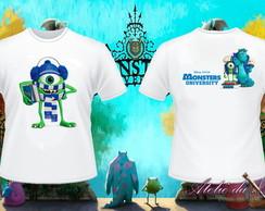 Camisa Personalizada - Monstros S.A.