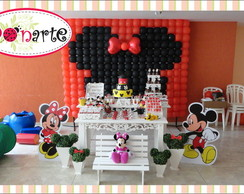 Loca��o Mesa decorada Minnie