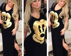 Vestido estampa do Mickey