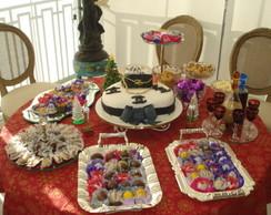 bolo decorado chanel