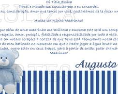 Arte Digital Convite Padrinho Madrinha