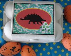 """Caixinha de Ovos """"Dinossauro"""""""