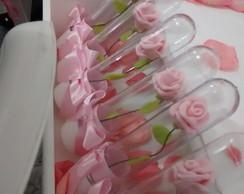 Tubete rosas rosa