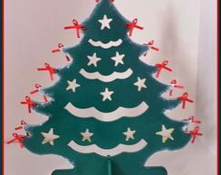 �rvore de Natal em MDF