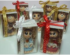 Santinhos em Biscuit Infantilizados