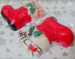Charmosa Bota de Natal