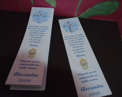 Marcador de texto - Crisma ou Batizado