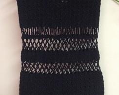 Vestido Croch� Sabrina Curto