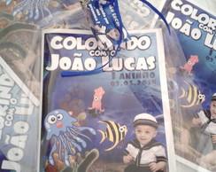 Revista De Colorir Com Celofane e Fita