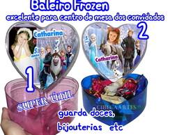 Frozen-Baleiro Brinde enfeite mesa