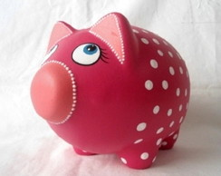 porco cofre rosa pink ref.35