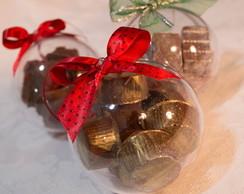 Bola de Natal com Bombom